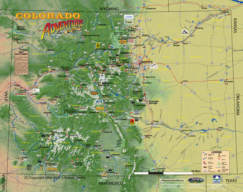 Colorado Advetnure Map