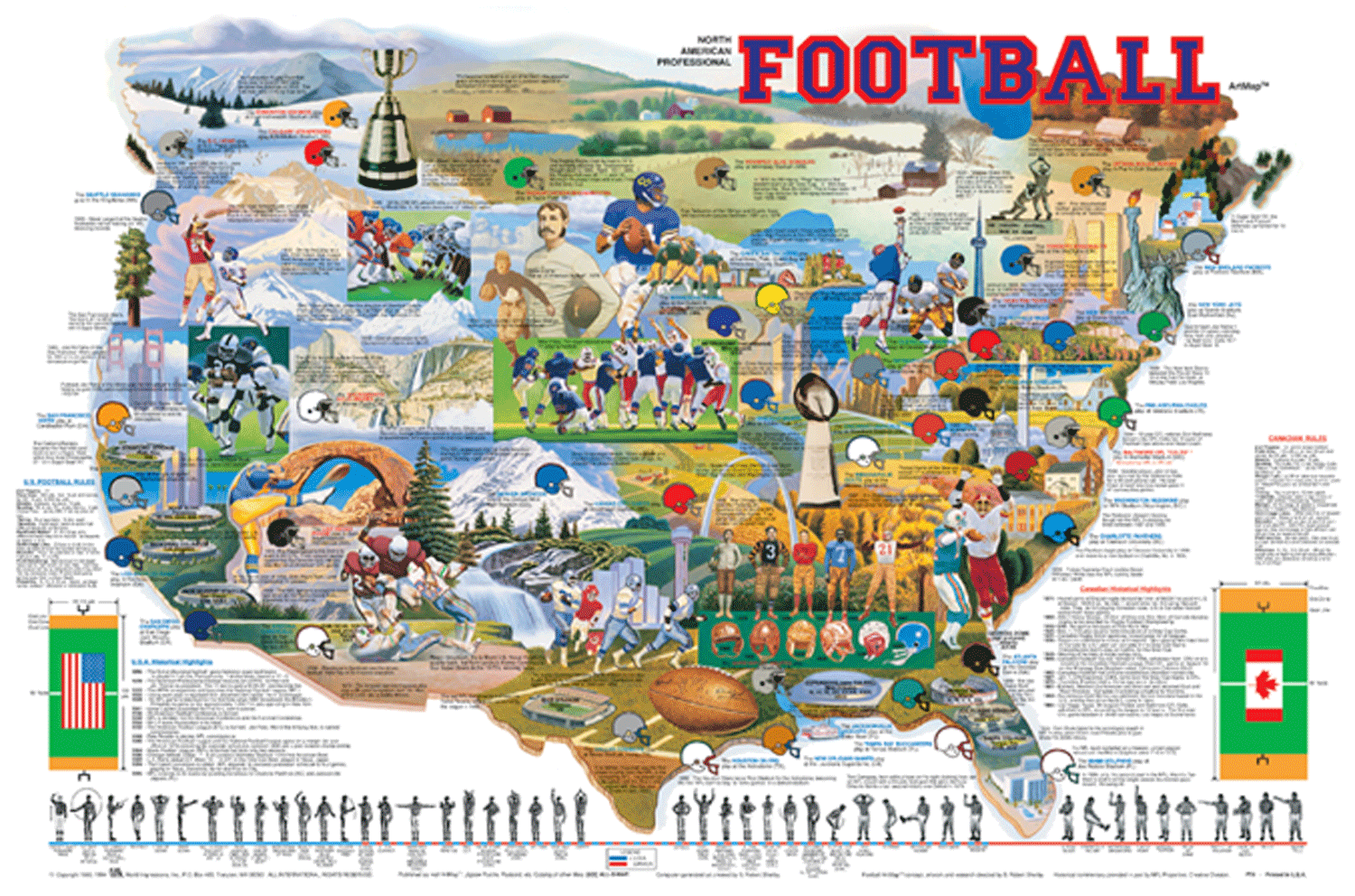 Football Adventure Map