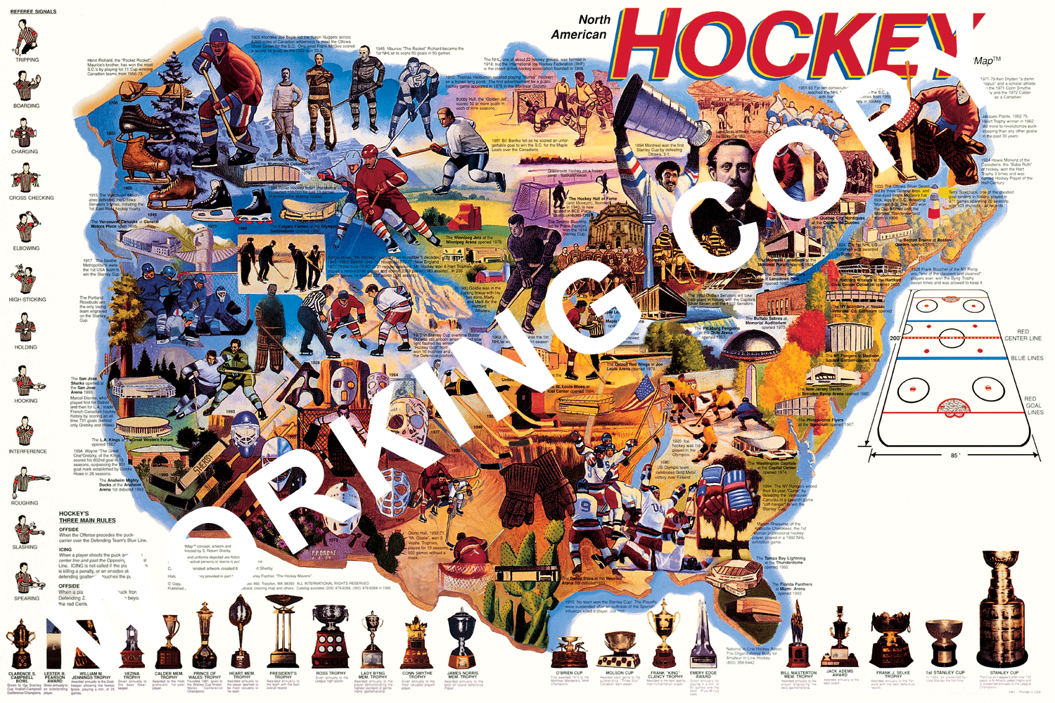 Hockey Adventure Map